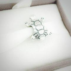 фотография шарм пандора сверкающая черепаха 791538CZ №3