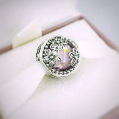 фотография шарм пандора сияющее цветение 792055PCZ №1