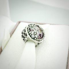 фотография шарм пандора сияющее цветение 792055PCZ №2
