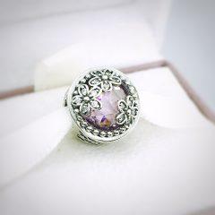 фотография шарм пандора сияющее цветение 792055PCZ №4