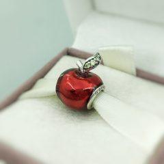 фотография шарм пандора яблоко белоснежки, disney 791572EN73 №1