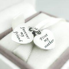 фотография подвеска пандора роза для любимой мамы 791528EN40- №4
