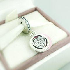 фотография подвеска пандора преданное сердце 792149EN24 №2