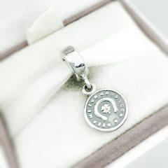 фотография подвеска-шарм пандора монетка на счастье 791298 №1
