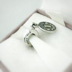 фотография подвеска-шарм пандора монетка на счастье 791298 №2