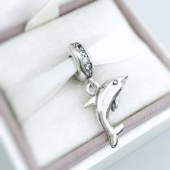 фотография подвеска-шарм пандора дельфин 791541CZ №1