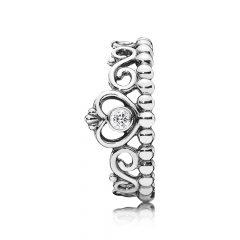 фотография кольцо пандора корона принцессы 190880CZ-2 №1