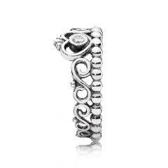 фотография кольцо пандора корона принцессы 190880CZ-2 №3