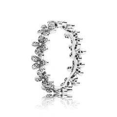 фотография кольцо пандора сверкающие маргаритки 190934CZ-1