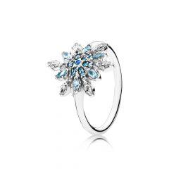 фотография кольцо блестящая снежинка 190969NBLMX