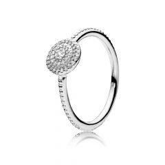 фотография кольцо пандора вечная красота 190986CZ