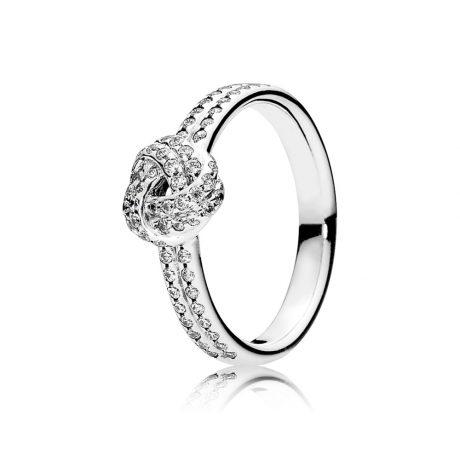 фотография кольцо пандора узы любви 190997CZ-2