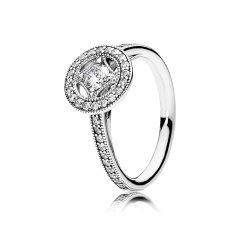 фотография кольцо пандора вечная элегантность винтаж 191006CZ-3
