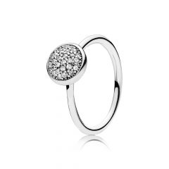 фотография кольцо ослепительная капелька 191009CZ