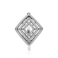 фотография кольцо пандора изящная геометрия 196210CZ-4 №1