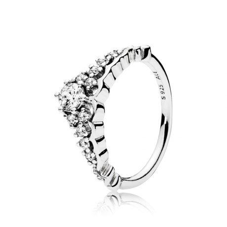 фотография кольцо пандора сказочная тиара 196226CZ-2