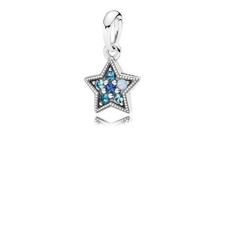 фотография подвеска пандора яркая звезда 396376NSBMX-
