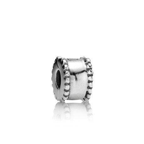 фотография клипса пандора серебро орнамент 790267