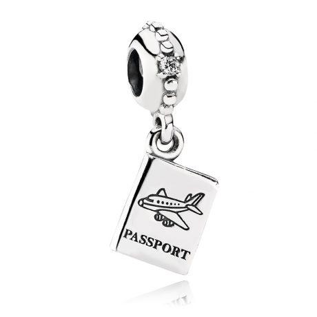фотография подвеска-шарм пандора паспорт 791147CZ
