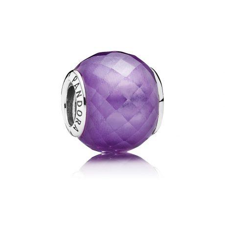 фотография шарм пандора фиолетовая нежность 791499ACZ