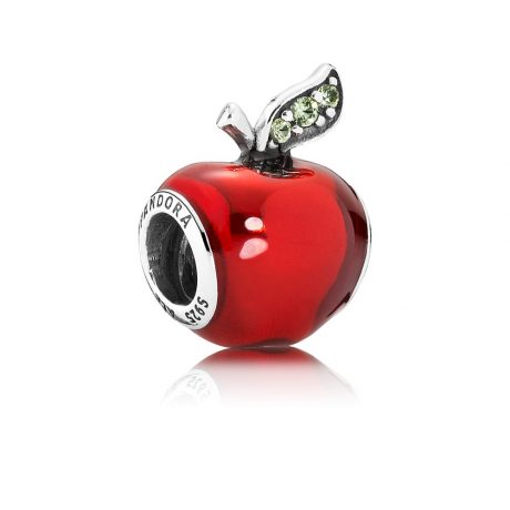 фотография шарм пандора яблоко белоснежки, disney 791572EN73