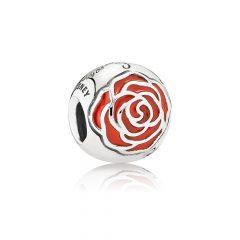 фотография шарм пандора заколдованная роза, disney 791575EN09 №1