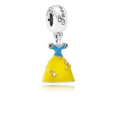 фотография подвеска пандора платье белоснежки, disney 791579ENMX