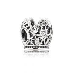 фотография шарм пандора корона принцессы, disney 791580CZ