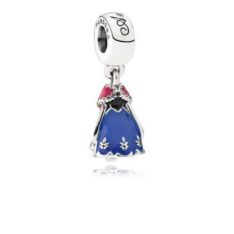фотография подвеска пандора платье анны, disney 791591ENMX-