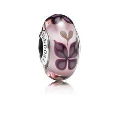 фотография мурано пандора розовые бабочки 791621
