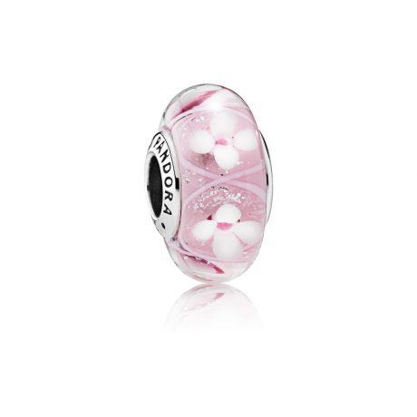 фотография мурано пандора розовая нежность 791665