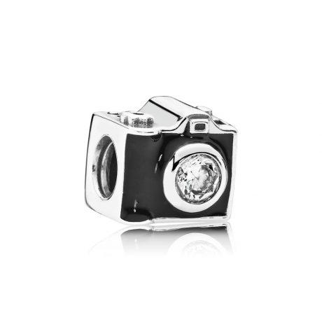 фотография шарм пандора фотоаппарат из серебра 791709CZ