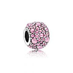 фотография подвеска-шарм  розовые капли 791755PCZ