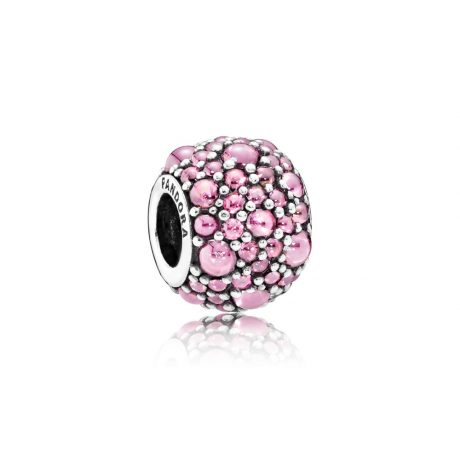 фотография подвеска-шарм пандора розовые капли 791755PCZ
