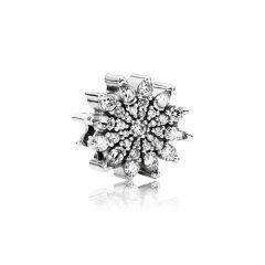фотография шарм пандора ледяной кристалл 791764CZ-4