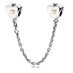 фотография защитная цепочка пандора сердце королевы 791878