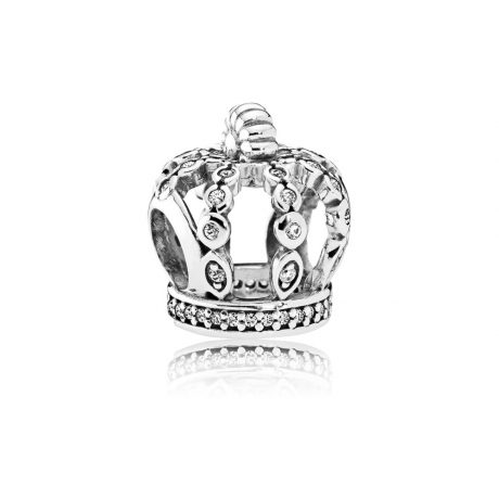 фотография подвеска-шарм пандора корона 792058CZ