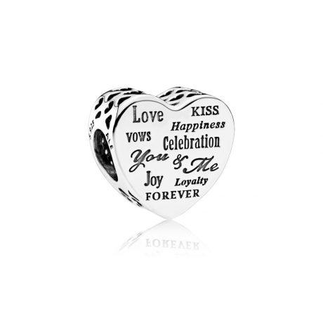 фотография шарм пандора любовь с надписями 792060