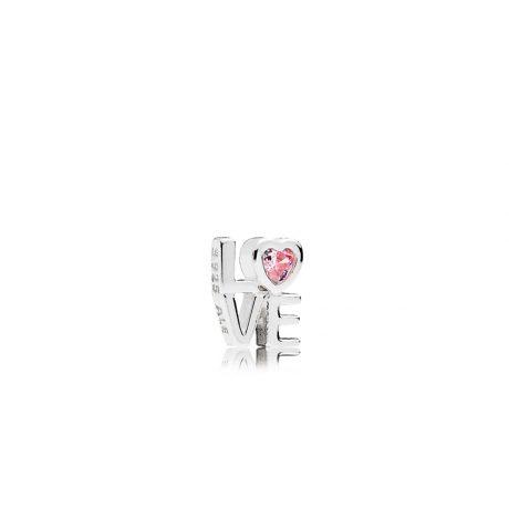 фотография pink love petite locke charm петит пандора 792161PCZ
