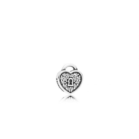 фотография lock of love petite locke charm петит пандора 792162CZ