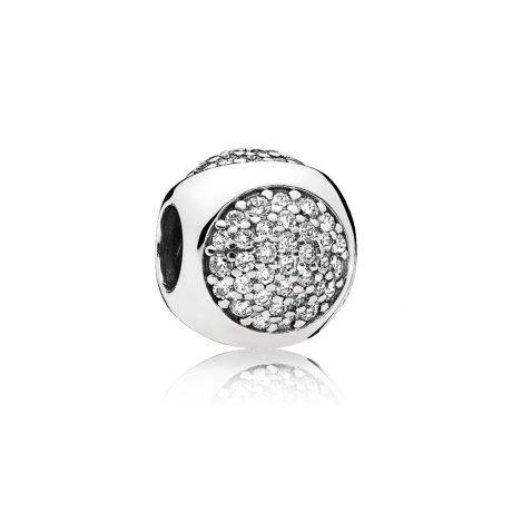 фотография шарм пандора сверкающие капли 796214CZ