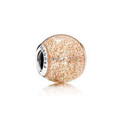 фотография шарм пандора сияние розового золота 796327EN145