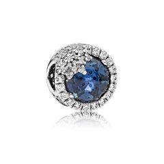фотография шарм пандора голубая ослепительная снежинка 796358NTB-4