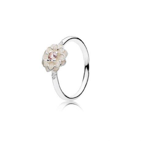 фотография кольцо пандора магнолия к34125п-2