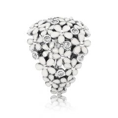 фотография кольцо пандора букет маргариток а56342м-3