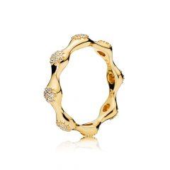 фотография кольцо пандора капля росы с67342в-1