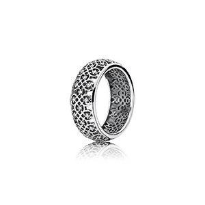 фотография кольцо пандора восточные узоры к56342с-4