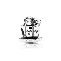 фотография шарм пандора мышка в чашке 791107-2