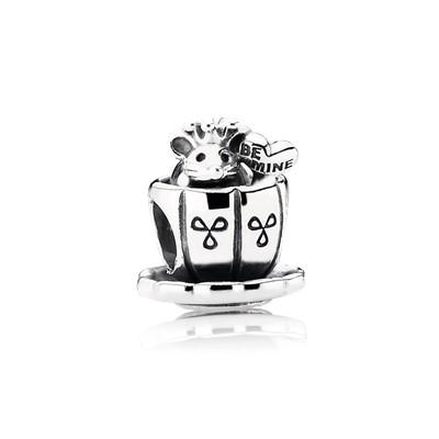 фотография шарм пандора мышка в чашке 791107