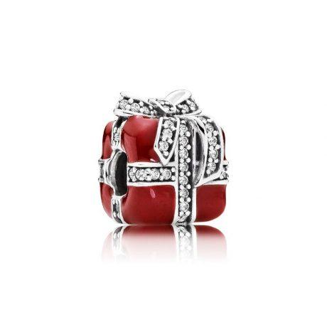 фотография шарм пандора красный подарок 317PR1752